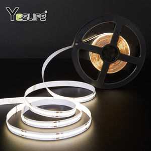 Dc 12V Ip22 สูงCri Warm White CobไฟLed Strip