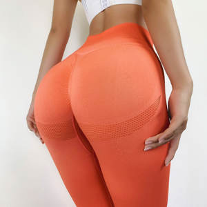 2020 hot selling oem ombre seamless women leggings set Yoga Clothing Fitness Yoga girls Leggings