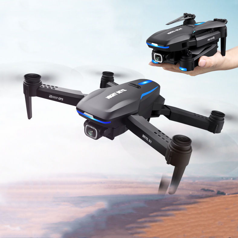 5G WIFI Long Range Racing Foldable Phantom Drone / Helicopter Drone With HD Camera And GPS