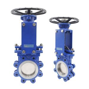 Bundor 1.5 Inch stainless steel flanged gate valves with price ggg50 Sluice Valve casting steel 100mm knife gate valve