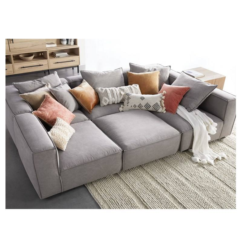 YASITE Hot Sale Free Sample 7 Seater Living Room Sofa Cum Bed