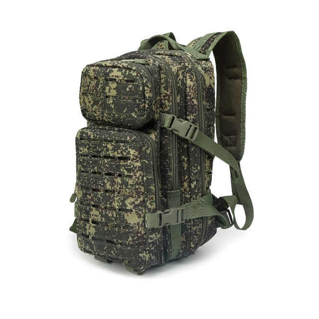 Outdoor Camouflage Camping Wandelen Militaire Rugzak 30L 600D Oxford Leger Molle Tactische Rugzak
