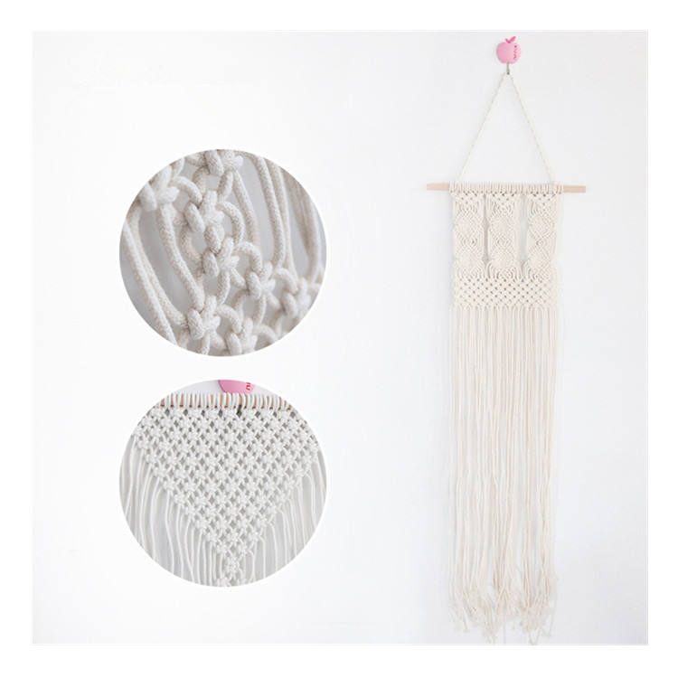 New Handicraft Bohemia Art Macrame Wedding Tassel Wall Hanging For Home Decor