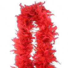 Wholesale Fashion Chandelle Scarfs Party Costume Decorative Party Feather Boas