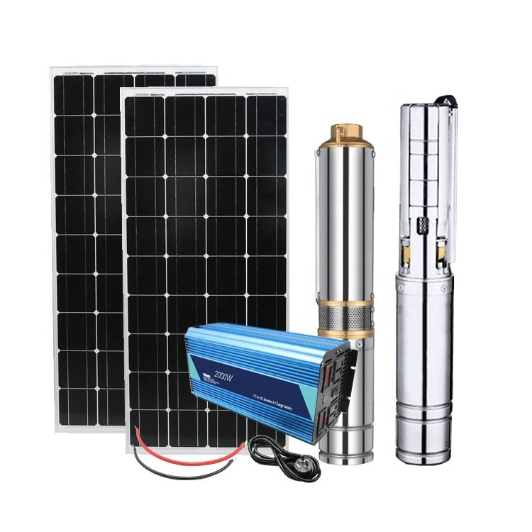 solar DC water pump system Agricultural irrigation DC controller Solar Pump System with storage tank
