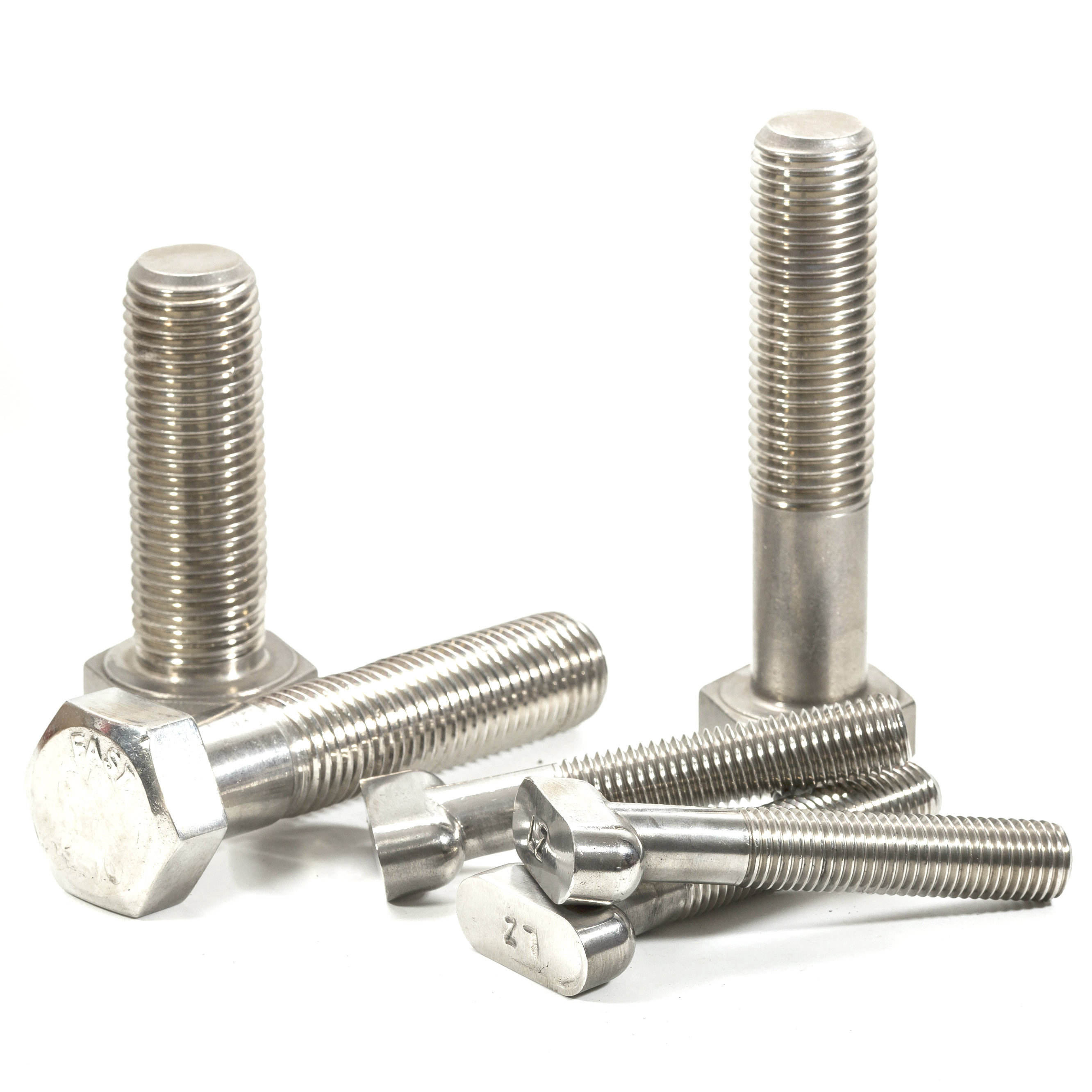 Stainless Steel SS304 SS316 Hex Bolts And Nuts