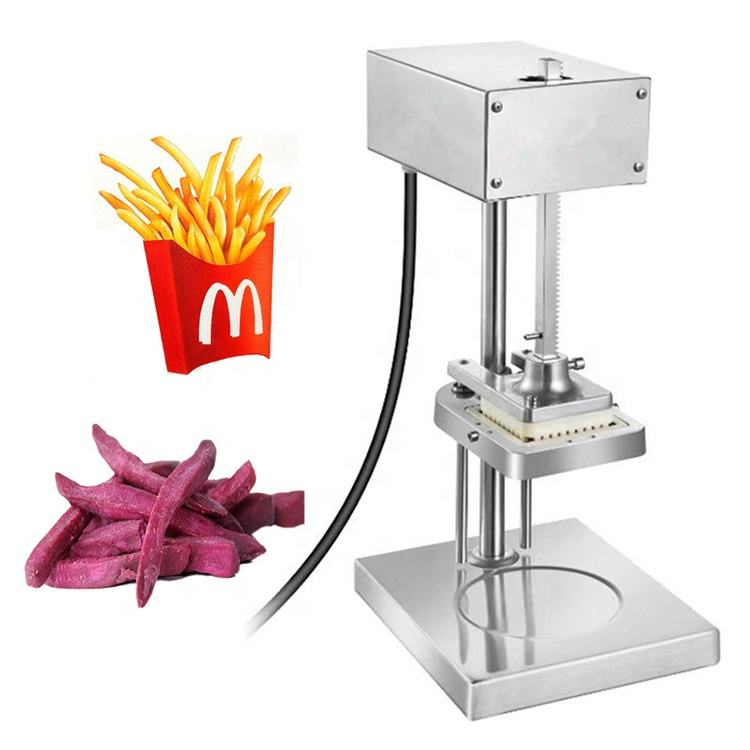 HUI HU LAI French Fry Potato Chip Cutter Machine Spiral Electric Commercial Potato Cutter