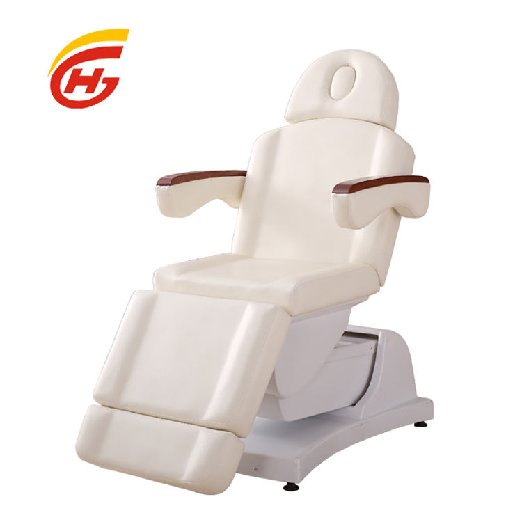 Wholesale Salon Furniture Guangzhou Electric Massage Table Facial Cosmetic Bed Hot sale of cheap beauty chairs