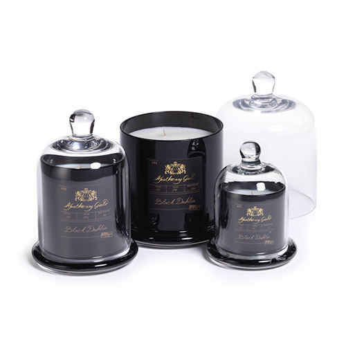 Luxury cloche candle jar soy candle