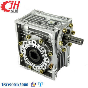 NRV Series Industrial Aluminium Alloy 1400 Rpm Motor Speed Reduce Helical Gearbox Gear Reductor