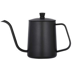 20 Ounce Black Pour Over Coffee Kettle Pour Over Coffee Kettle Stainless Steel