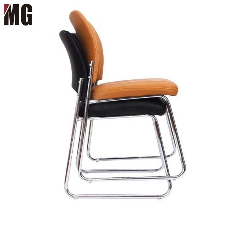 Seamless welding high quality low price chair staff waiting office chairs conference room chair