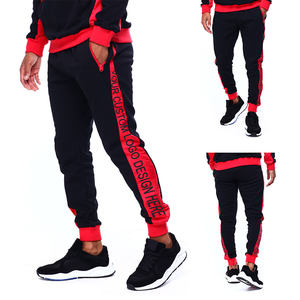 Polyester Cotton Custom Mens Jogger Pants