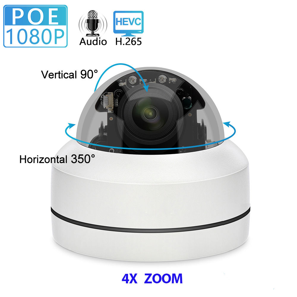 1080P açık <span class=keywords><strong>su</strong></span> <span class=keywords><strong>geçirmez</strong></span> ses IP <span class=keywords><strong>kamera</strong></span> 4X Zoom Mini hız Dome 2MP P2P Onvif Video PTZ POE <span class=keywords><strong>kamera</strong></span>