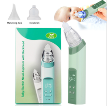 Electric Baby Nose Suction Cleaner - Automatic nose Booger Sucker for Infants