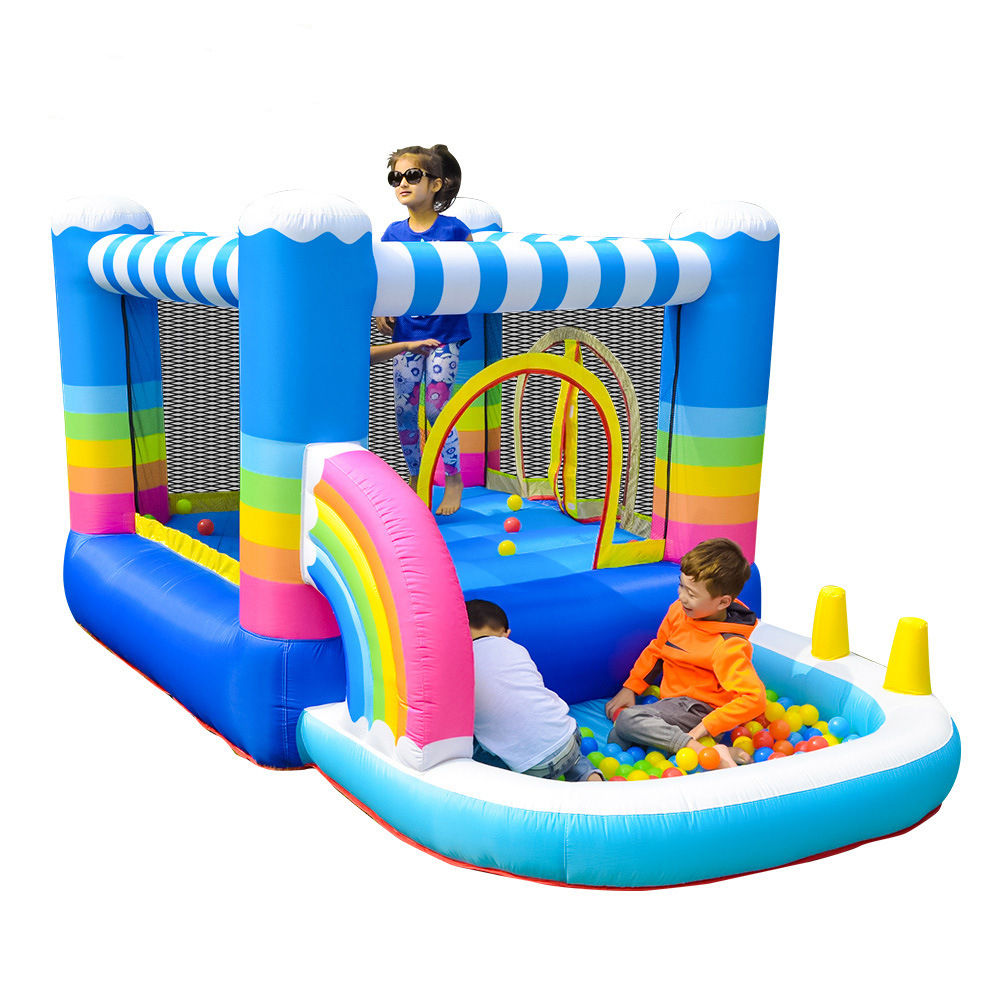 2020 cheap inflatable kids castle bounce children's toys pool inflatable bouncer indoor slip