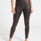 China OEM Wholesale High Waist Womens Shiny Fabric Compression Sports Leggings