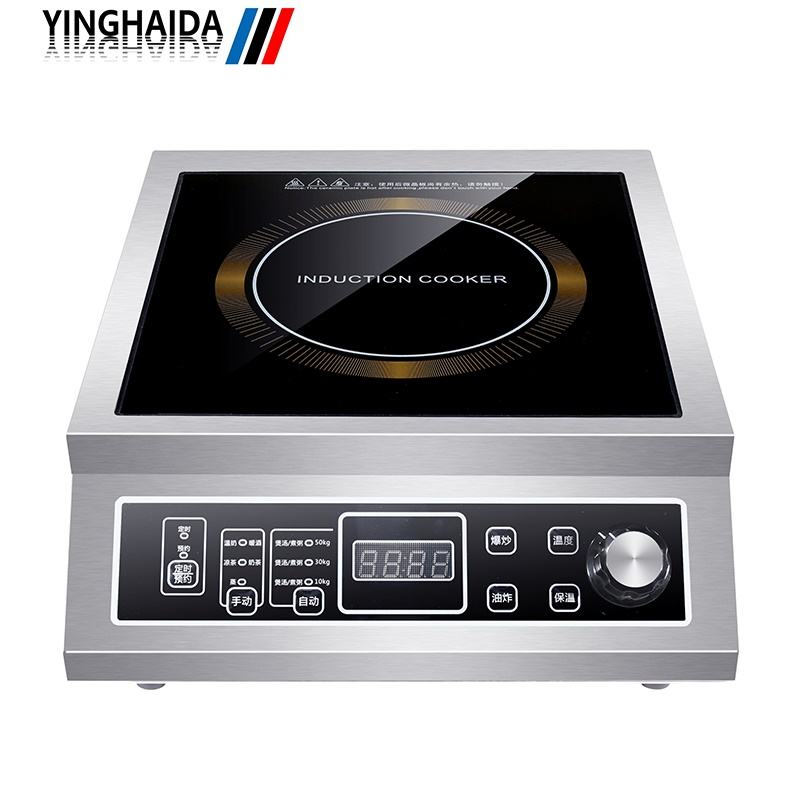 High Power Induction Cooker Commercial Induction Cooker Machine 3.5Kw Commercial Induction Stove