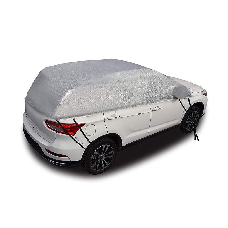 Factory price waterproof car cover PEVA plastic half car cover by Yaheng
