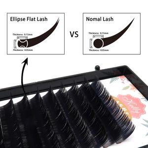 Single lashes 0.03 0.05 0.07 0.10 0.15 Mink individual classic Eyelash extensions