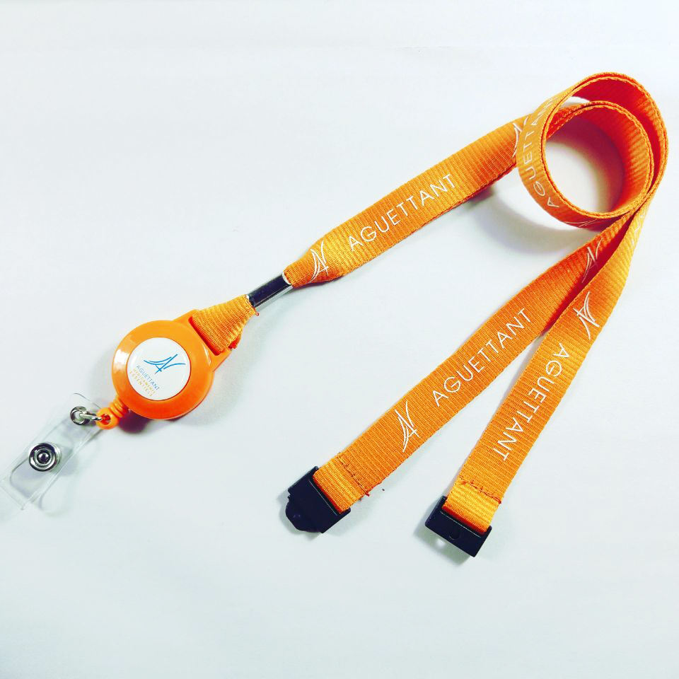 Original Factory Competitive Price Custom polyester Silk printing Neck lanyard