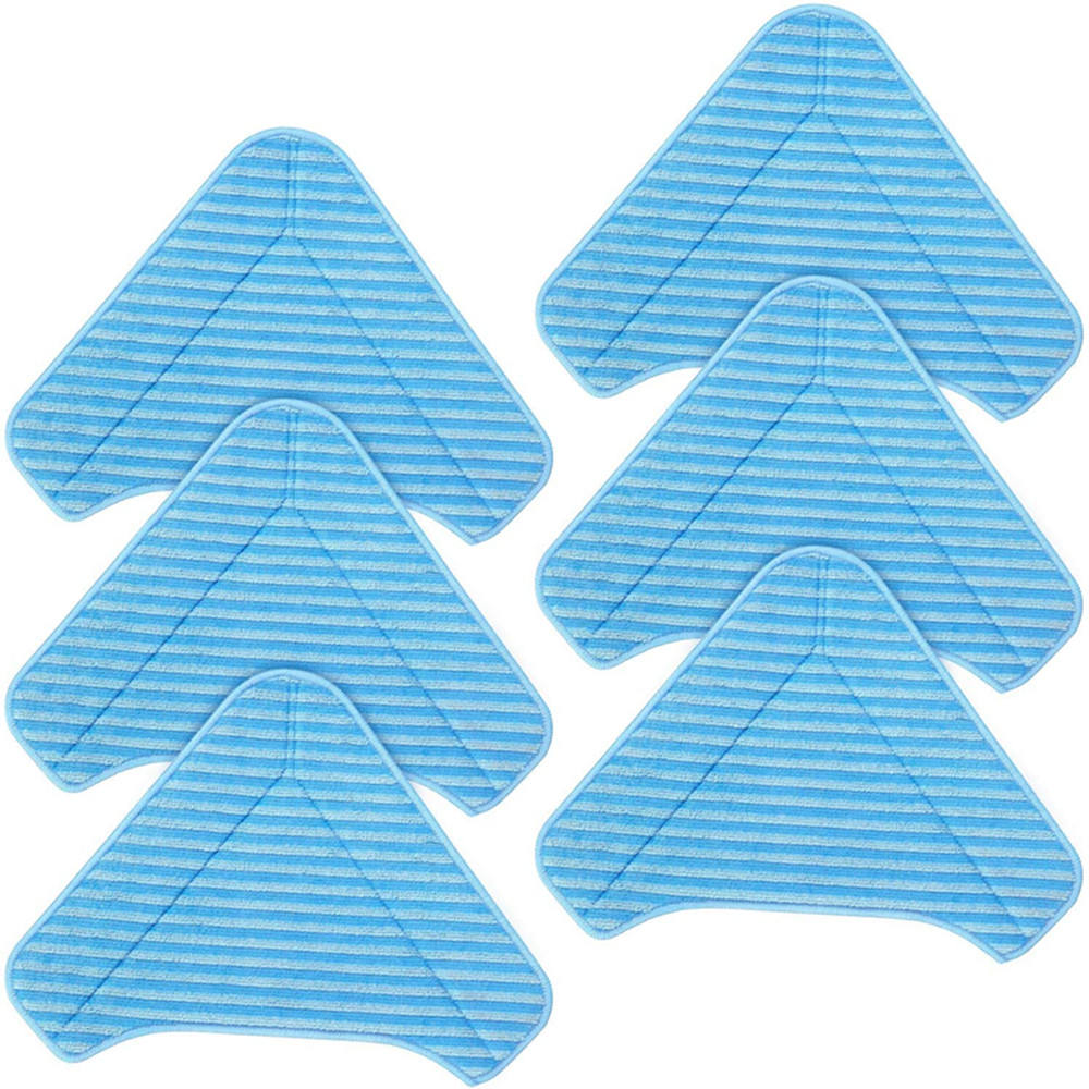 Microfiber Mop Pads Thicken 12in1 Steam Mop Head Triangle Replacement Cleaning Pad