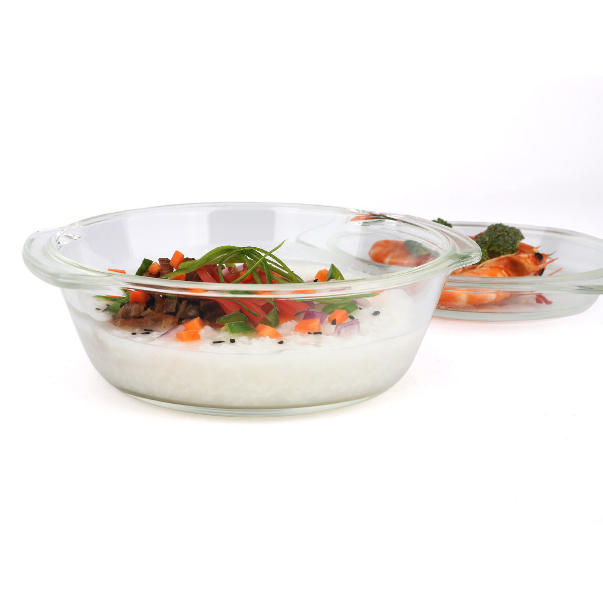 Glass Cookware China Top 10 Selling Cookwaresets Casserole Set Borosilicate Glass Cookware