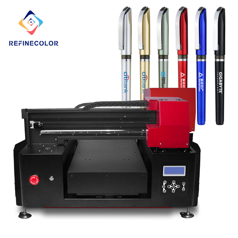Refinecolor Multi-Functionele Digitale Flatbed Uv <span class=keywords><strong>Printer</strong></span> Met Rip Software Uv <span class=keywords><strong>Printer</strong></span> Voor Metaal Hout Acryl Plastic