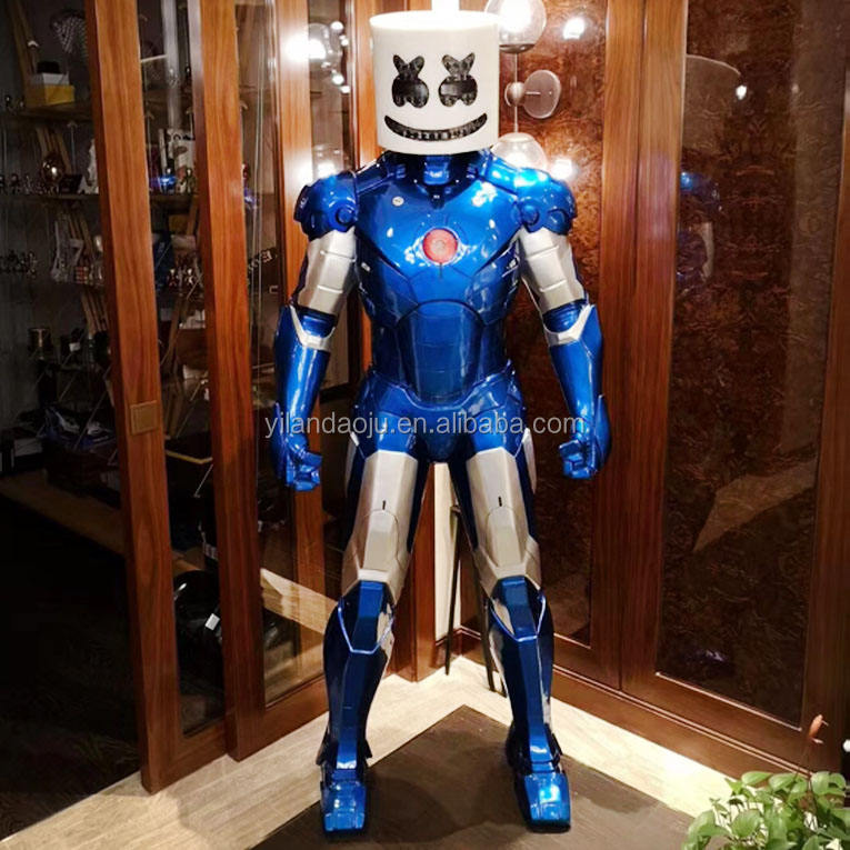 Good Quality Cheap Price Realistic Large Size Adult Size Popular Exhibition Robot Costume