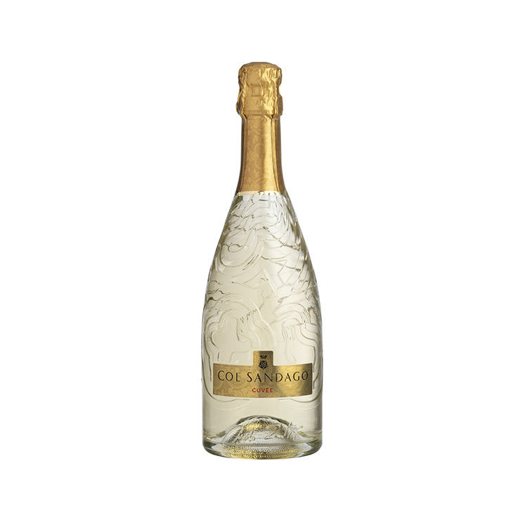 Cuvee'Private Label Sparkling Bottle Wine Beverage 750Ml Alcohol 11.5% Table Wine Wholesale Fruit Pure Italian Sparkling Wine