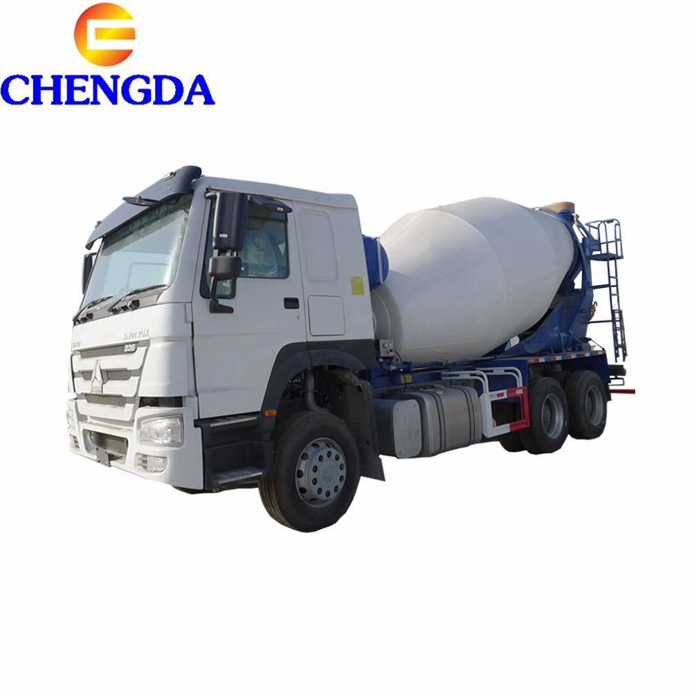 Sinotruk HOWO A7 8 cubic meters concrete mixer truck