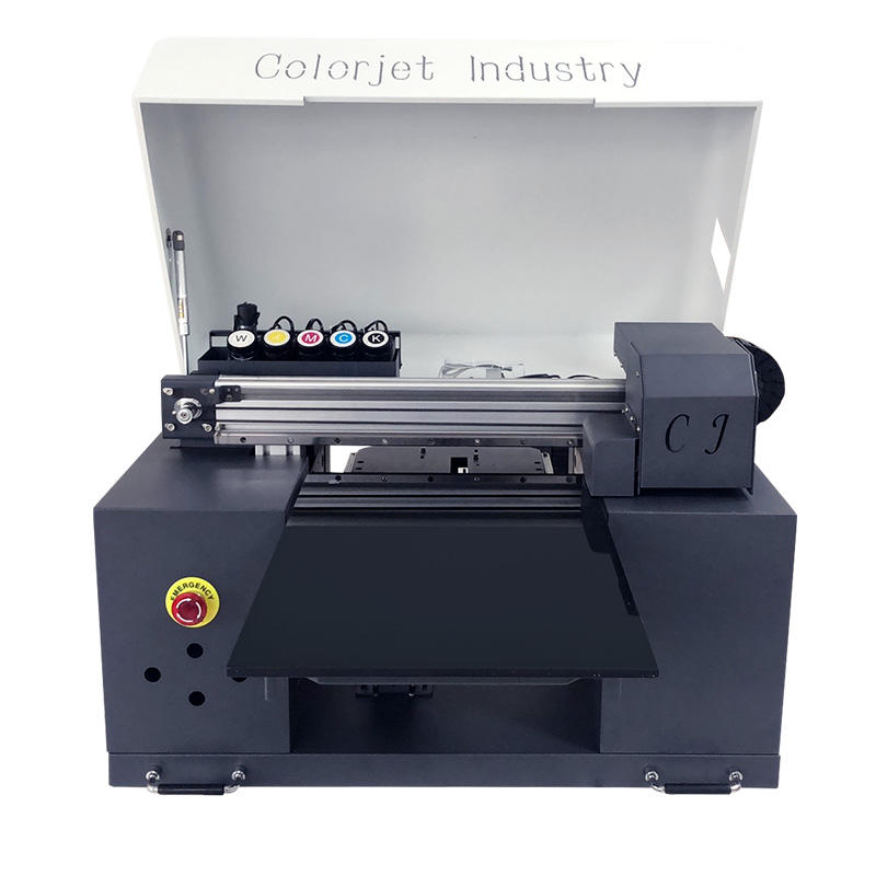CJ Hot Sale A3 UV Printer Glass Bottle USB Books Pens Logo Phone Case UV Printing Machine