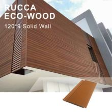 Wood Plastic Composite Outdoor Solid Wood Wall Panel for Exterior solid wood wall material decorative ceiling wall paneling