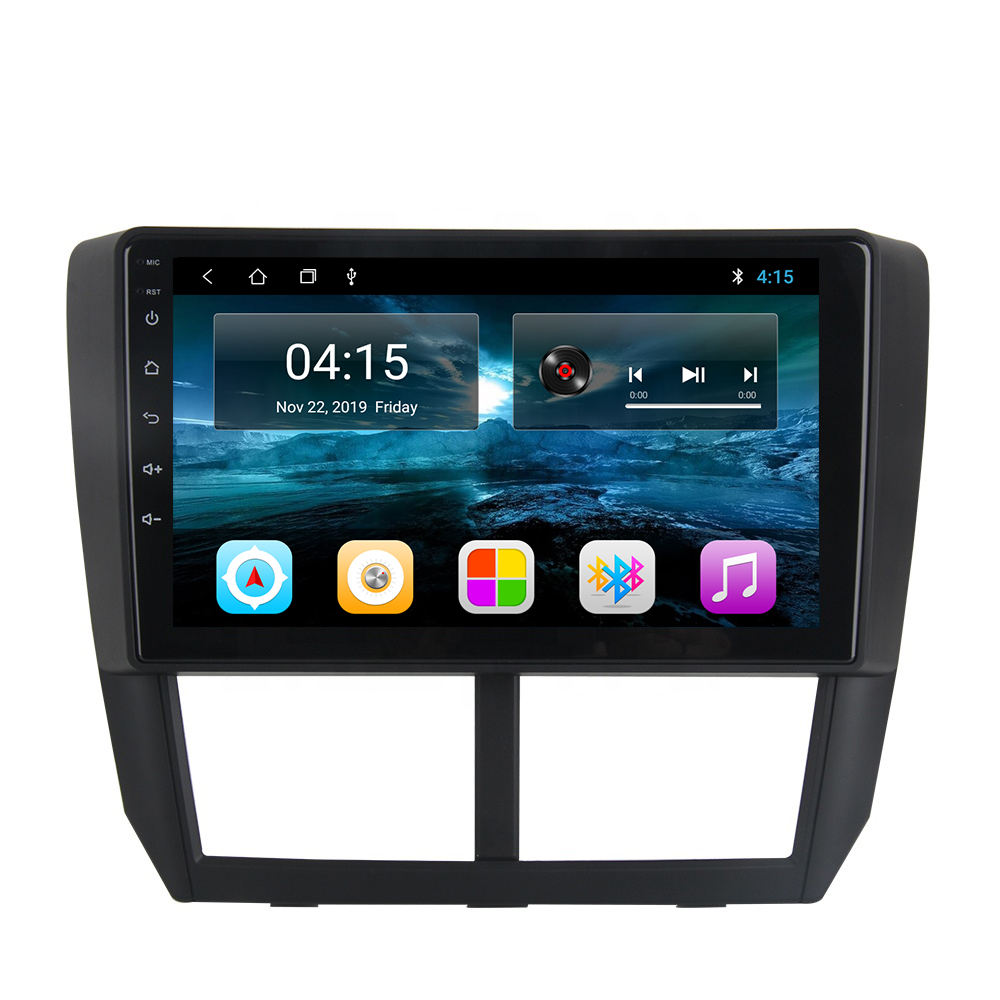 2020 9 Inch Android 9.1 Bluetooth Car Đài Phát <span class=keywords><strong>Thanh</strong></span> Quad Core Cho Subaru Forester Impreza 2008 2009 2010 2011 2012 Auto DVD Player