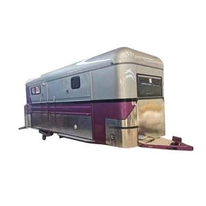 Straight or Angle horse load float horse trailer with living quarters