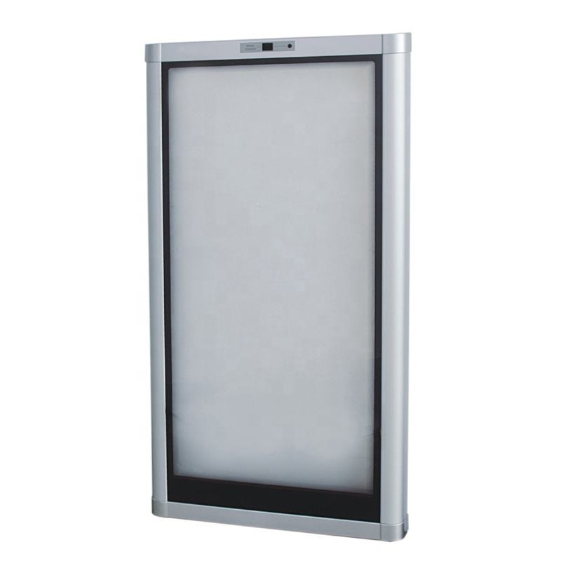 PVC or Aluminum Frame Wine Cabinet Triple or Double Glazing Glass Door