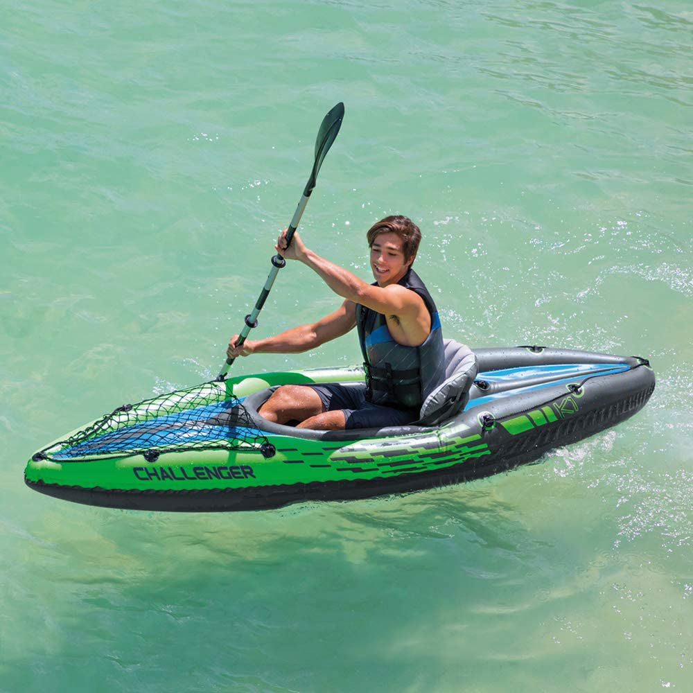 FunFishing Wholesale Single Seat One Person Sit on Top Ocean Oc1 Canoe Plastic Fishing Paddle kayak