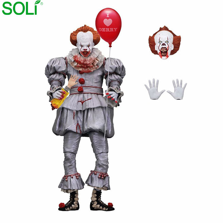 Jouets d'action Stephen King figure pennywise figura pennywise neca