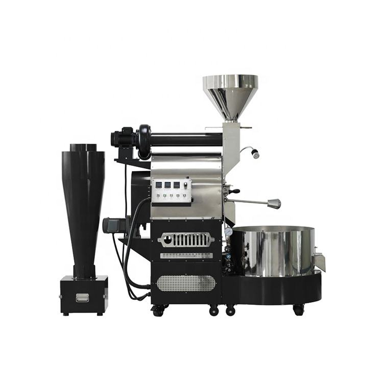 High Quality Coffee Roaster 12kg Henan Vic Gene 1200 Giesen W60a Genio Fluid bed Gas Heating 25kg Coffee Roaster Machines 2020
