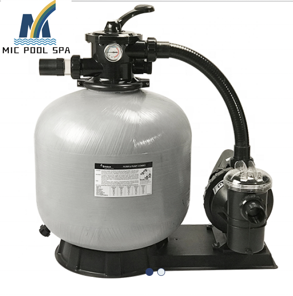 Fiberglass sand filter with pump system,swimming pool sand filter and pump combo