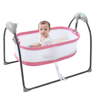 High Quality Intelligent Remote Control Baby Crib WIth Sleeping Music Baby Bouncer Cot