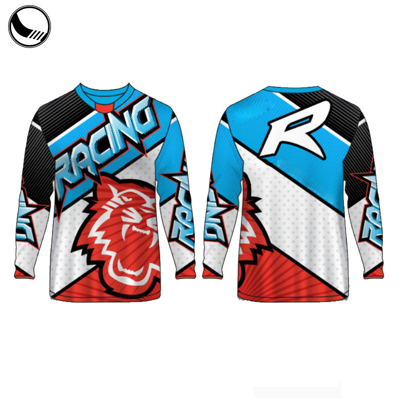 Racing Jersey Sublimation Custom Racing Bmx Jerseys
