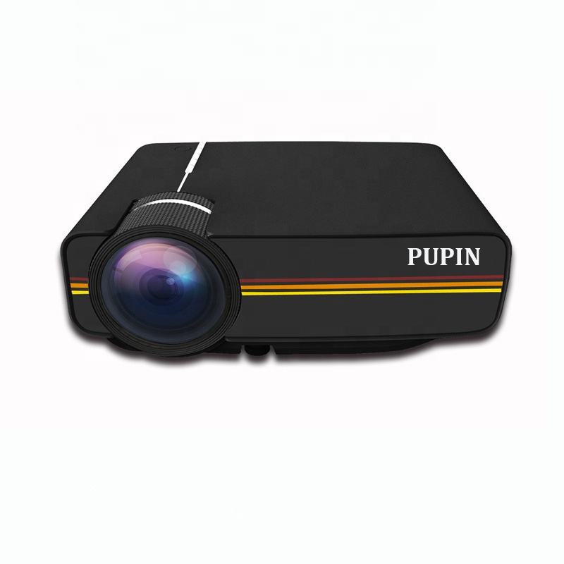 Hot Selling Home Projector Portable Mini LED HD Projector Supports 1080 Wholesale Factory Direct Sales