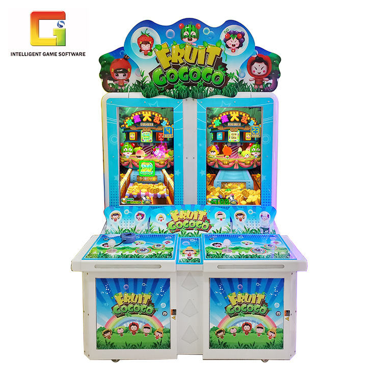 Coin Operated Video Games Skill Arcade Coin Pusher Machine