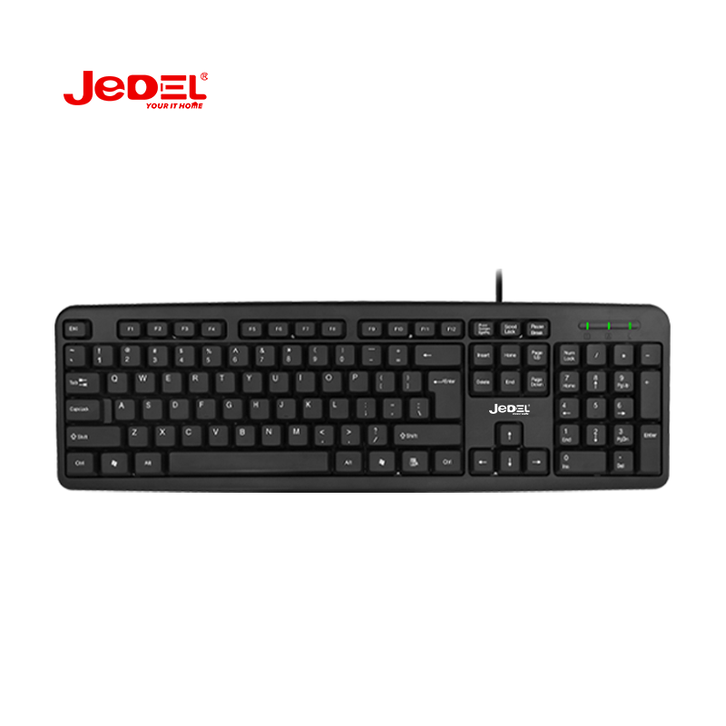 Tahan Air Kabel JEDEL Standar USB Office <span class=keywords><strong>Keyboard</strong></span>