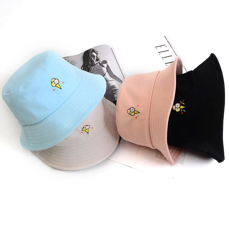 Sun hat outdoor cap finishing plain custom bucket hat/cap