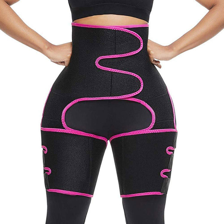 Cusrom logotipo <span class=keywords><strong>cintura</strong></span> y muslo Trimmer formadores <span class=keywords><strong>cintura</strong></span> entrenador glúteos muslo borrador pierna Shapewear