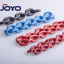 EN818-2 standard G80 color  electrophoretic painted finish  lifting chain