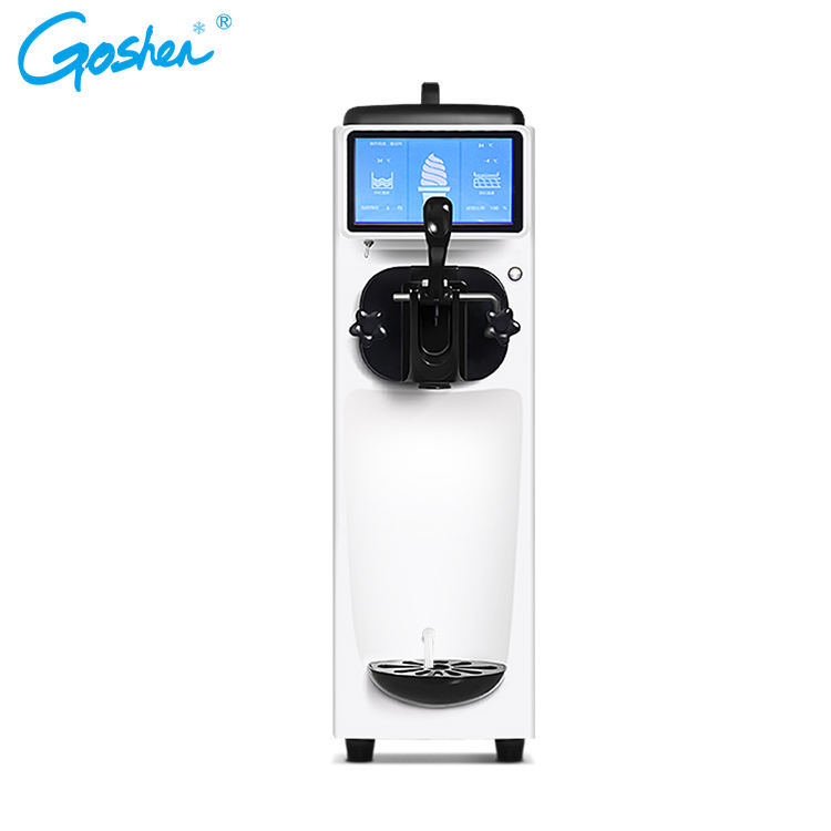 TOP selling products in alibaba stable ice cream machine with touch screen