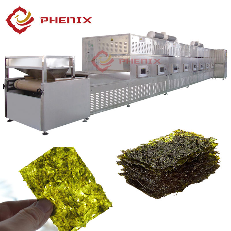 High Efficiency Industrial Microwave Dryer Machinery Oven for Spirulina Algae Seaweed Kelp